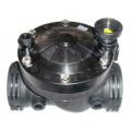 Клапан электромагнитный DC 2` вн.резьба с адаптером для соленоида